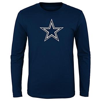 Dallas Cowboys Kids Primary Logo Long Sleeve T-Shirt