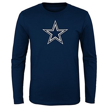 Dallas Cowboys Kids Primary Logo Long Sleeve T-Shirt