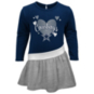 Dallas Cowboys Girls All Hearts Diamond Dress