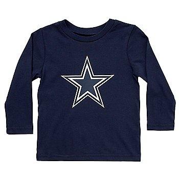 Dallas Cowboys Toddler Primary Logo Long Sleeve T-Shirt