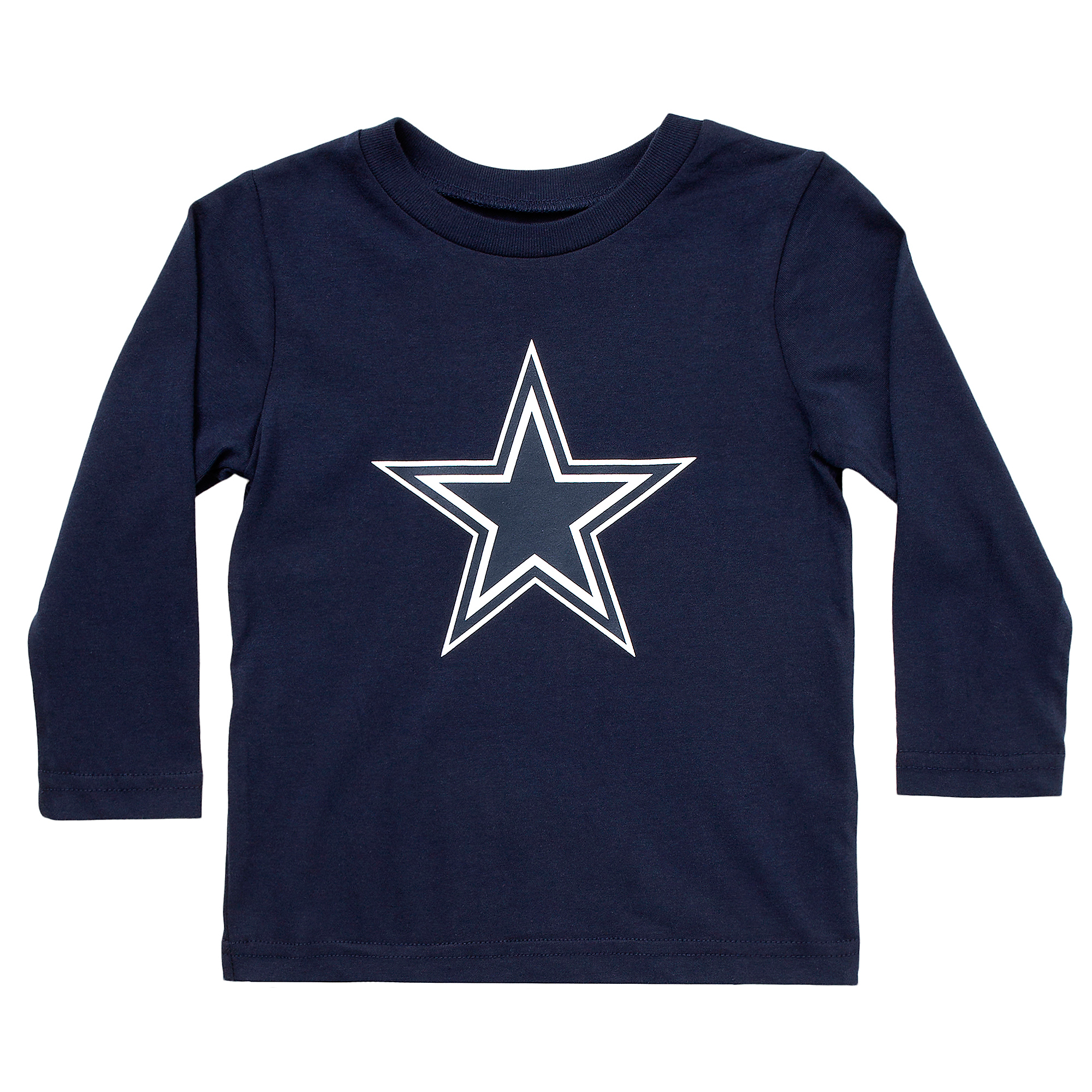 Dallas Cowboys Toddler Primary Logo Long Sleeve T-Shirt