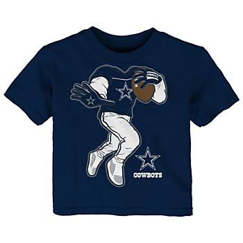 Dallas Cowboys Infant Yard Rush II Short Sleeve T-Shirt