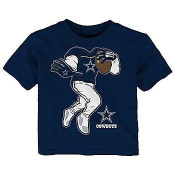 Dallas Cowboys Toddler Yard Rush II Short Sleeve T-Shirt