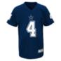 Dallas Cowboys Youth Dak Prescott #4 V-Neck Name & Number T-Shirt