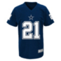 Dallas Cowboys Youth Ezekiel Elliott #21 V-Neck Name & Number T-Shirt