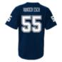 Dallas Cowboys Youth Leighton Vander Esch #55 V-Neck Name & Number T-Shirt
