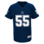 Dallas Cowboys Youth Leighton Vander Esch #55 V-Neck Name & Number T-Shirt