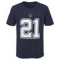 Dallas Cowboys Nike Youth Ezekiel Elliott #21 Name & Number T-Shirt