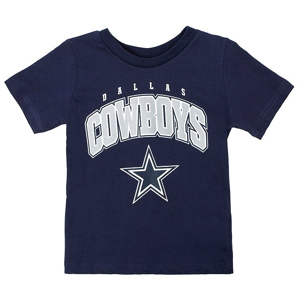 Dallas Cowboys Toddler Stripes Short Sleeve T-Shirt