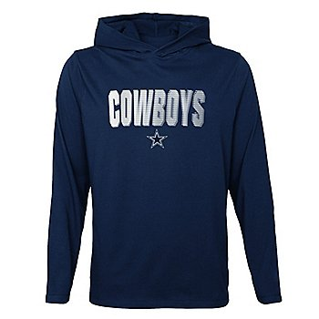 Dallas Cowboys Kids Blocker Long Sleeve Hooded T-Shirt