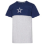 Dallas Cowboys Alta Gracia Unisex Short Sleeve Colorblock Half And Half T-Shirt