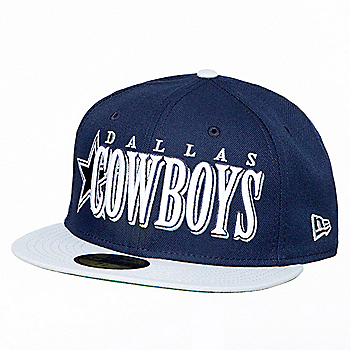 Dallas Cowboys New Era Mens Jumbo 59Fifty Cap