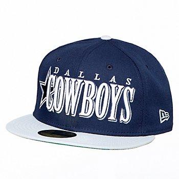 Dallas Cowboys New Era Mens Jumbo 59Fifty Cap