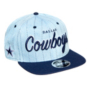 Dallas Cowboys New Era Mens Denim Hit High Crown 9Fifty Hat