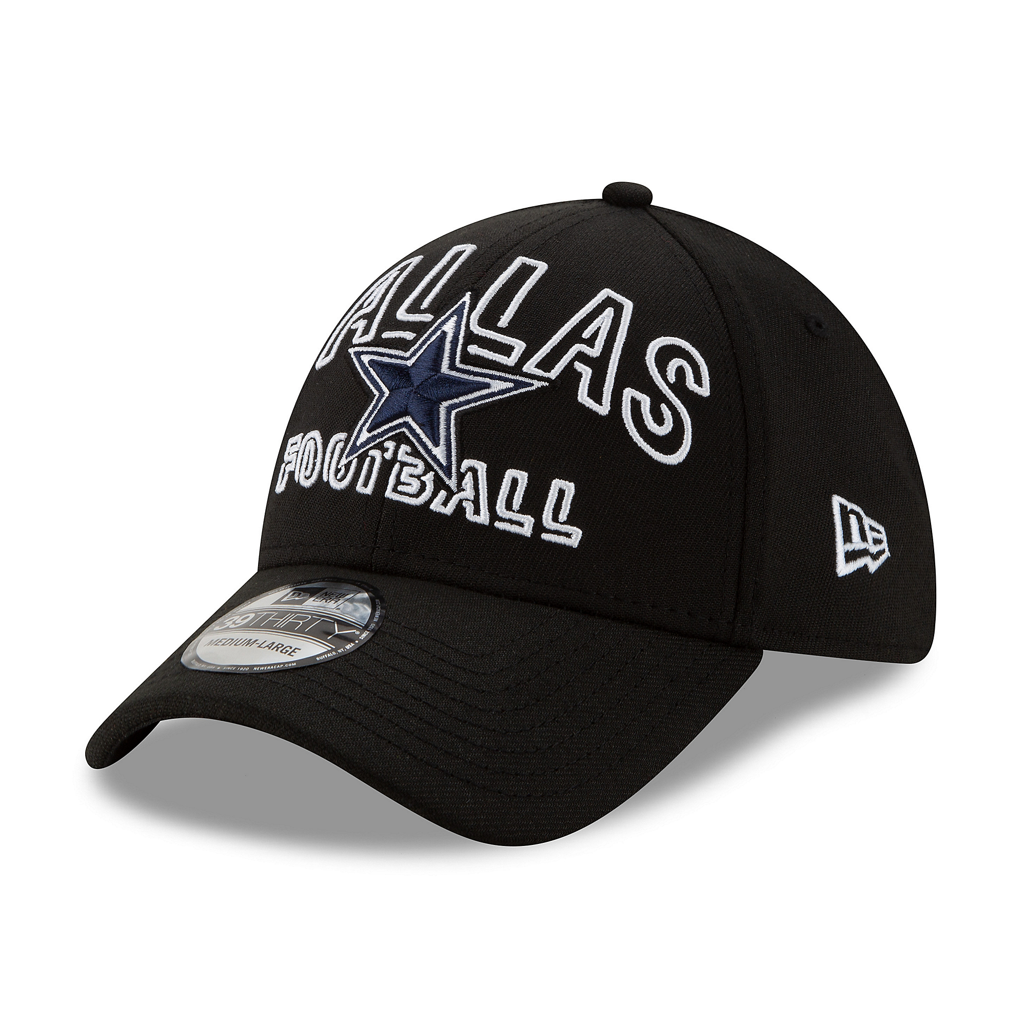 Dallas Cowboys New Era Mens 2020 Draft Alternate 39Thirty Hat