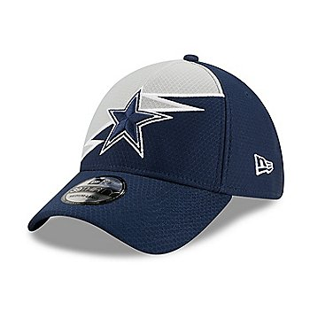 Dallas Cowboys New Era Mens Bolt 39Thirty Hat