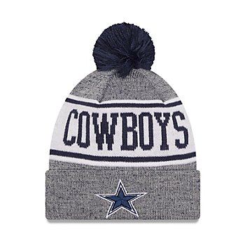 Dallas Cowboys New Era Mens Banner Knit Hat