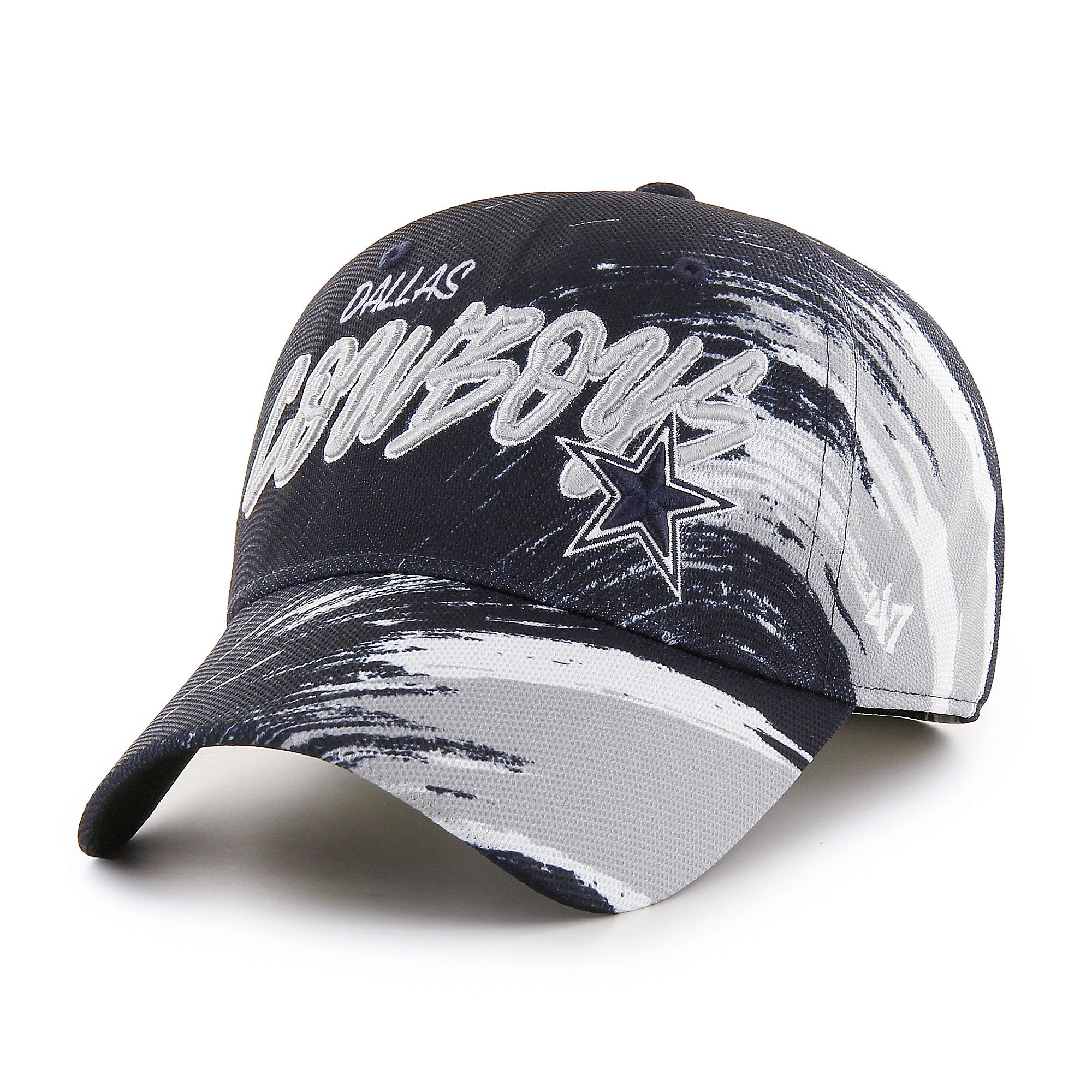 Dallas Cowboys '47 Mens Smokescreen Solo Stretch Fit Hat