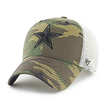 Dallas Cowboys '47 Brand Mens Camo Branson Strap MVP Adjustable Hat
