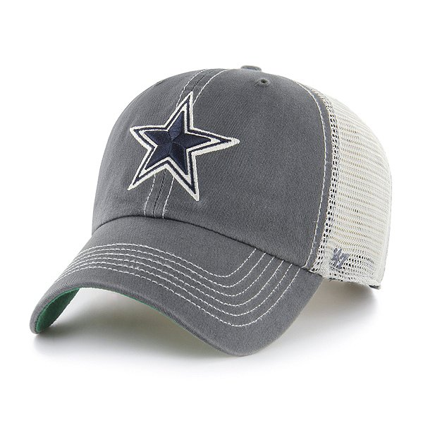Dallas Cowboys '47 Brand Mens Trawler Clean Up Snapback Hat