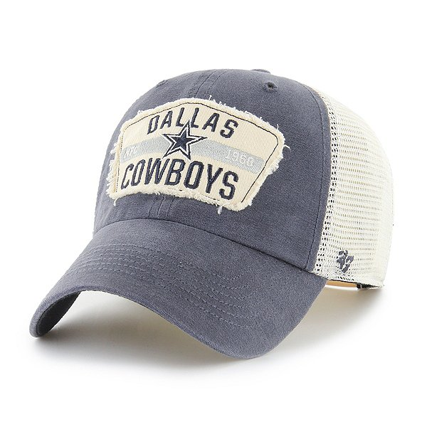 Dallas Cowboys '47 Brand Mens Crawford Clean Up Snapback Hat