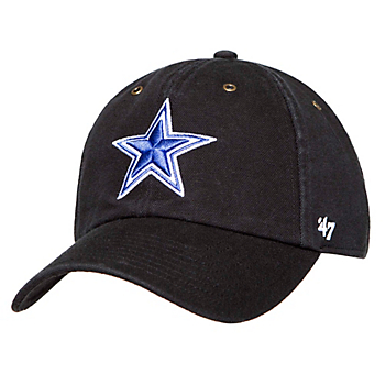 Dallas Cowboys Carhartt x '47 Clean Up Black Adjustable Hat