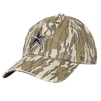 Dallas Cowboys Mossy Oak x Carhartt x '47 Clean Up Adjustable Hat