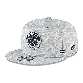 Dallas Cowboys New Era Mens Sideline Dolphin Grey 9Fifty Hat