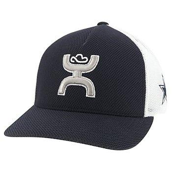 Dallas Cowboys Hooey Mens Colorblock Flex Fit Hat