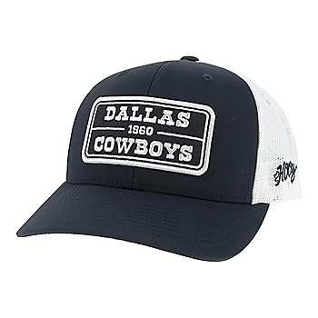 Dallas Cowboys Hooey Mens Trucker Patch Adjustable Hat
