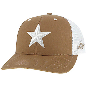 Dallas Cowboys Hooey Mens Tan Tonal Star Adjustable Hat