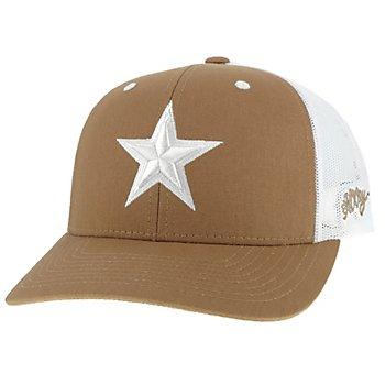 Dallas Cowboys Hooey Mens Tan Tonal Star Adjustable Hat