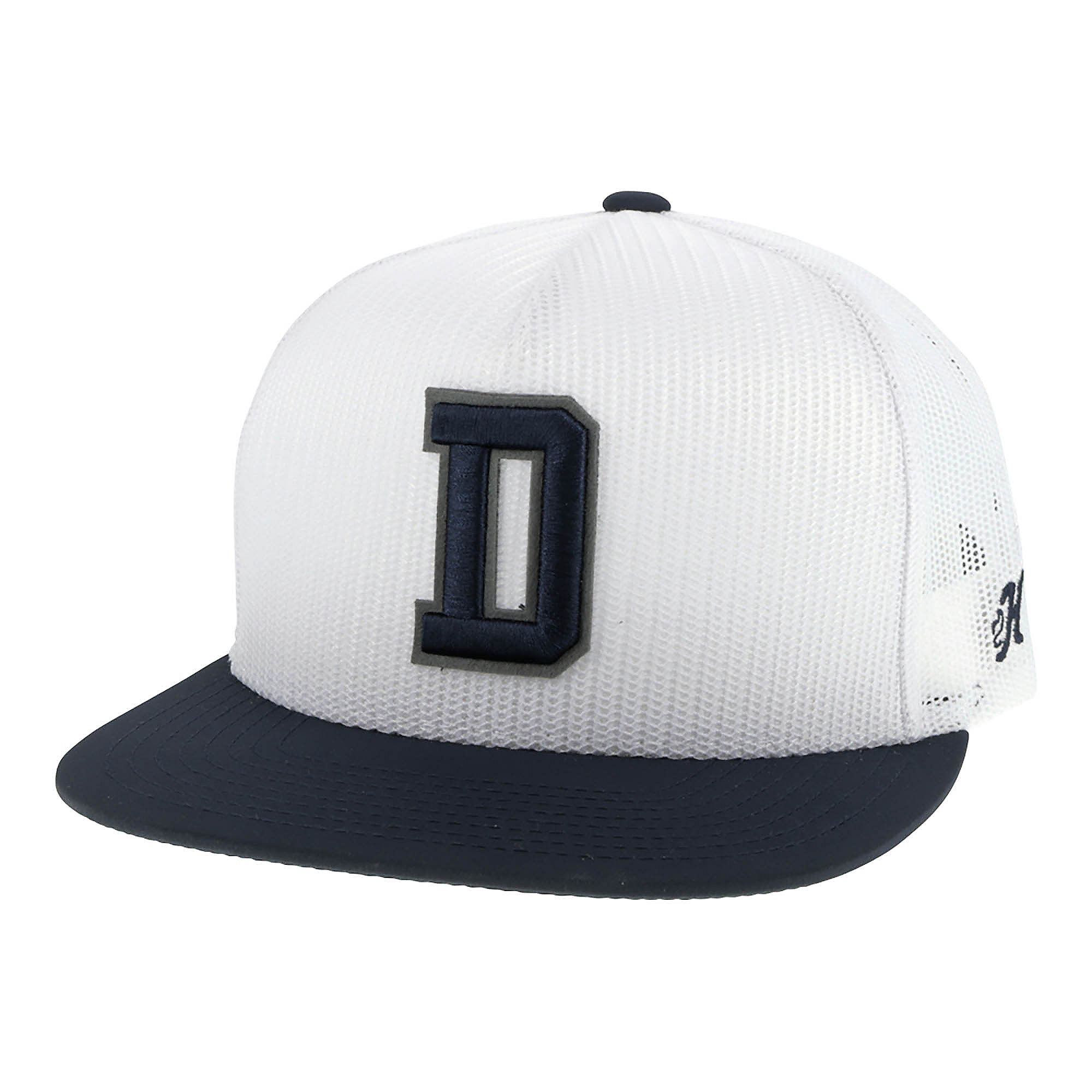 Dallas Cowboys Hooey Mens D Logo Trucker Adjustable Hat