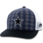 Dallas Cowboys Hooey Mens Pattern Print Adjustable Hat