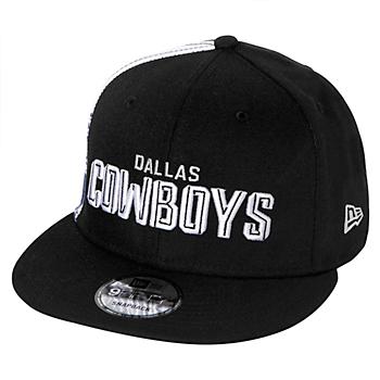Dallas Cowboys New Era Mens 2020 Draft Font 9Fifty Hat