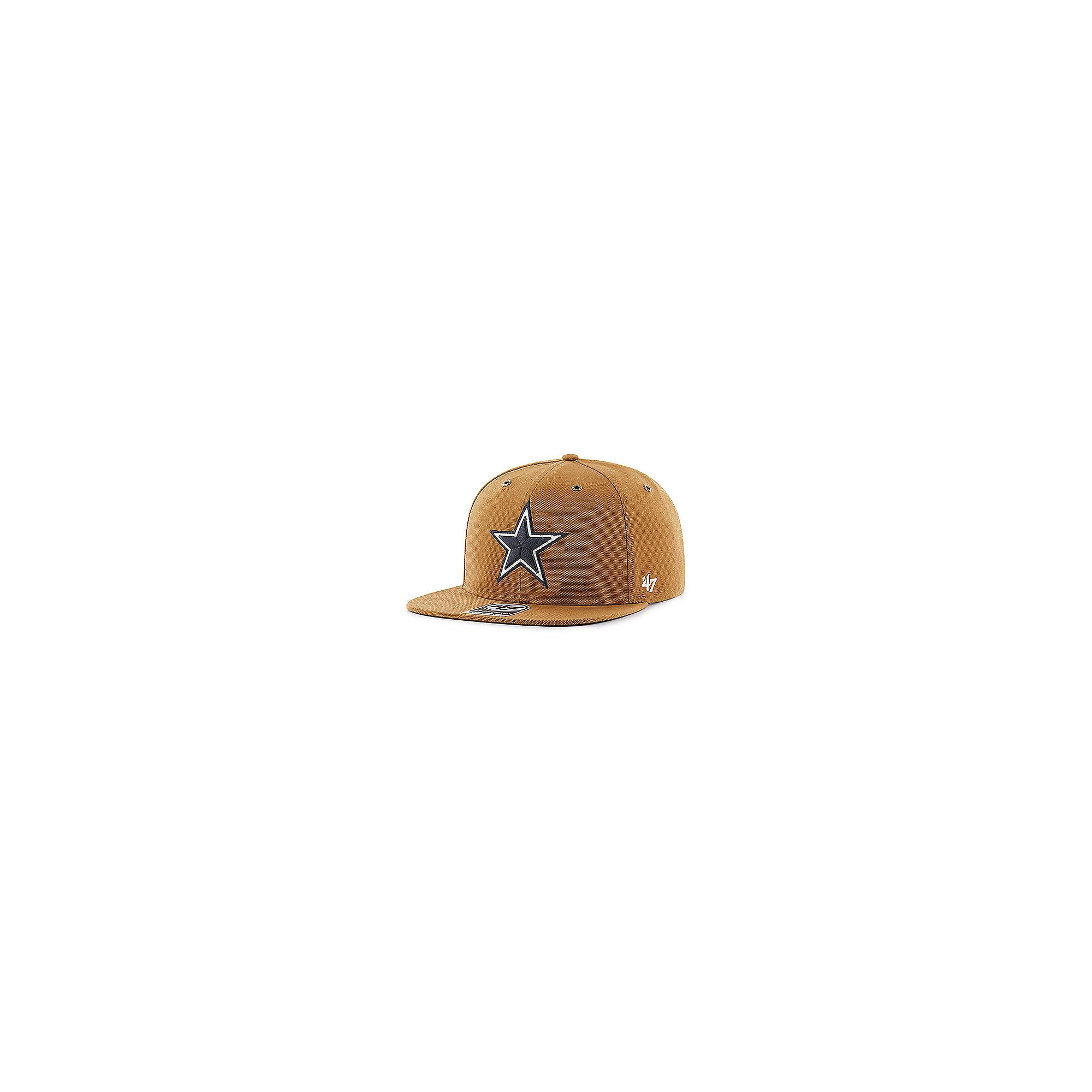 Dallas Cowboys Strap Carhartt x '47 Brand Captain Brown Adjustable Hat