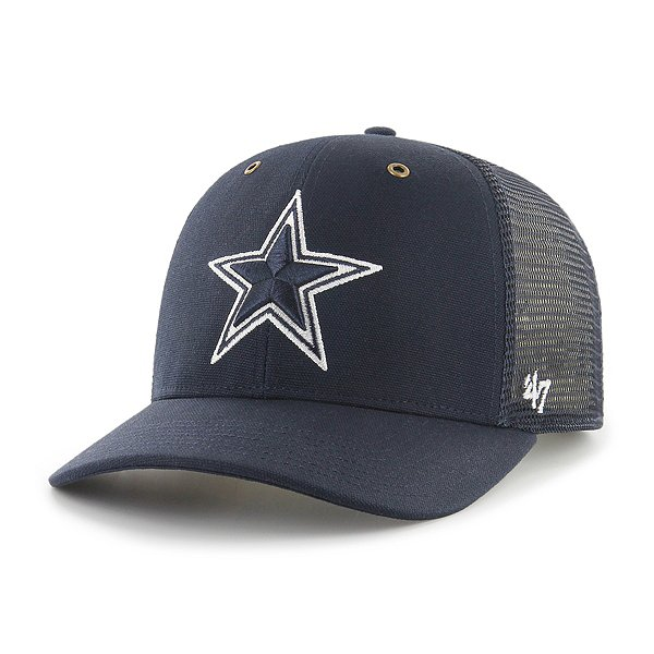 Dallas Cowboys Carhartt Mesh x '47 Brand Navy MVP Adjustable Hat