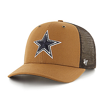Dallas Cowboys Carhartt Mesh x '47 Brand Brown MVP Adjustable Hat