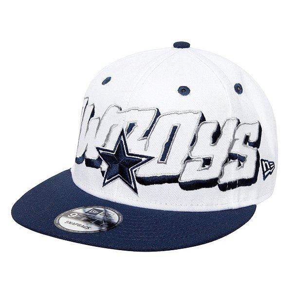 Dallas Cowboys New Era 1960 Mens Oversized Wordmark 9Fifty Hat