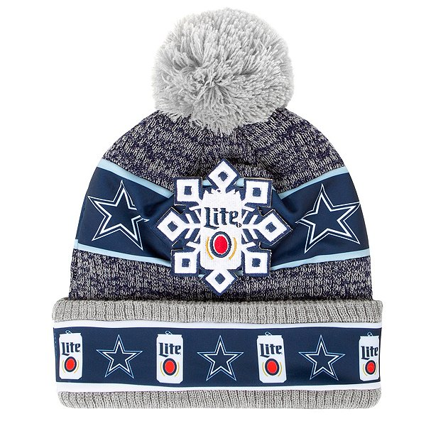Dallas Cowboys Mens Miller Lite Knit Hat