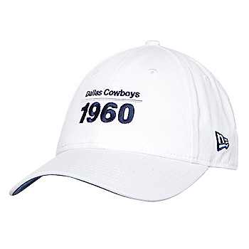Dallas Cowboys New Era Womens Team Est. 1960 9Twenty Cap