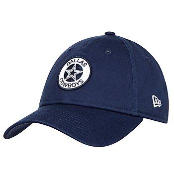 Dallas Cowboys New Era Womens Shiny Patch 9Twenty Hat