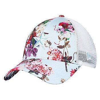 Dallas Cowboys New Era Womens Floral Trucker 9Forty Hat