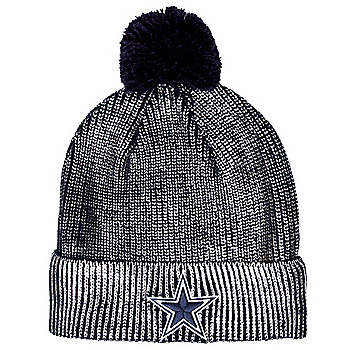 Dallas Cowboys Womens Goldenglow Knit Hat