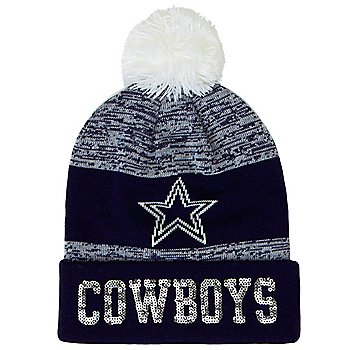 Dallas Cowboys Womens Beringer Knit Hat
