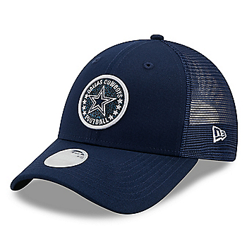 Dallas Cowboys New Era Womens Sparkle Trucker 9Forty Hat