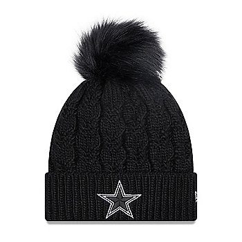 Dallas Cowboys New Era Womens Flurry Knit Hat
