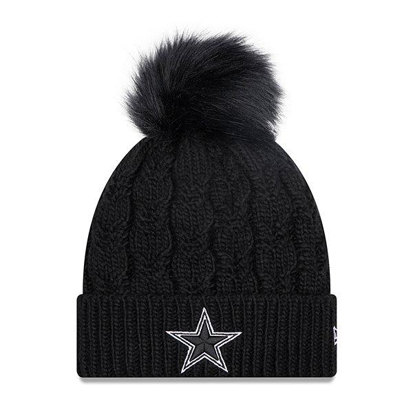 Dallas Cowboys New Era Womens Flurry Knit Hat