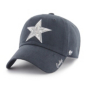 Dallas Cowboys '47 Brand Womens Sparkle Team Color Clean Up Adjustable Hat