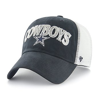 Dallas Cowboys '47 Brand Womens Sparkaloosa Clean Up Adjustable Hat